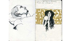 Mini Sketchbook, Nov 2012